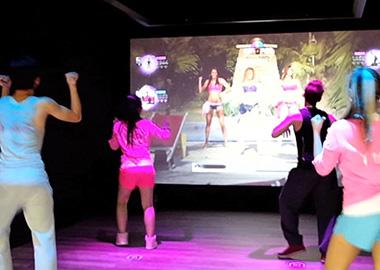 光影互动舞蹈