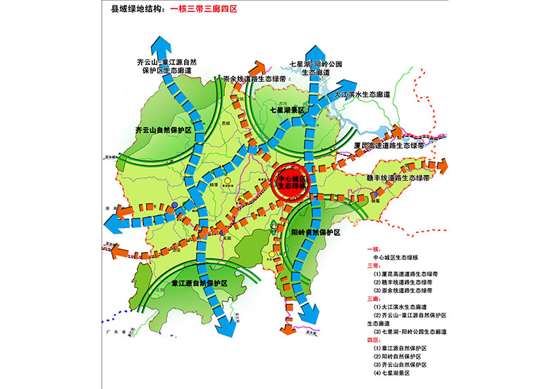 崇义县城市绿地系统专项规划