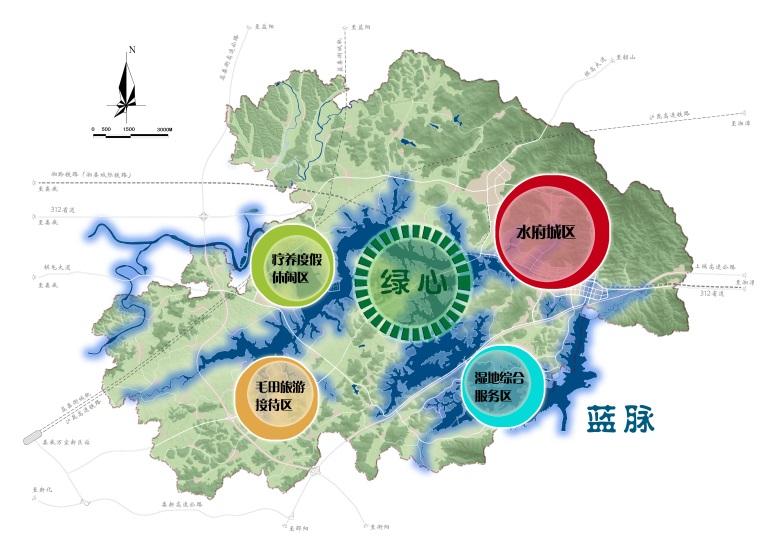 湖南湘潭市水府示范区总体规划(2012-2030)