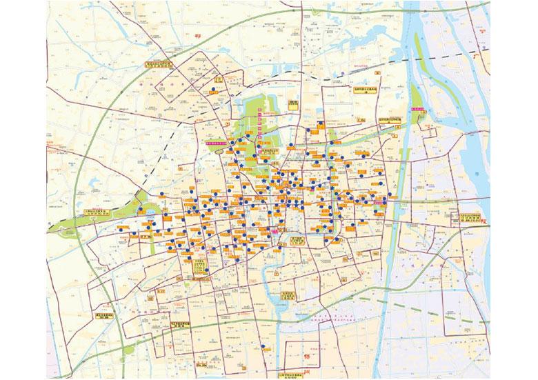 扬州市公共自行车规划研究(2014)