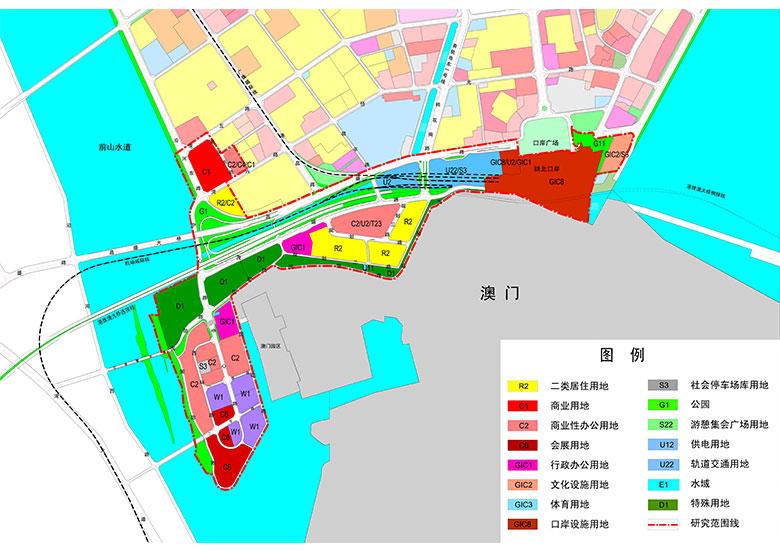 珠海市茂盛围地区用地开发研究