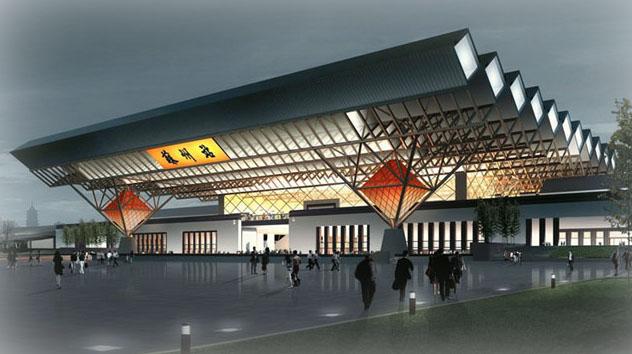 苏州新火车站
