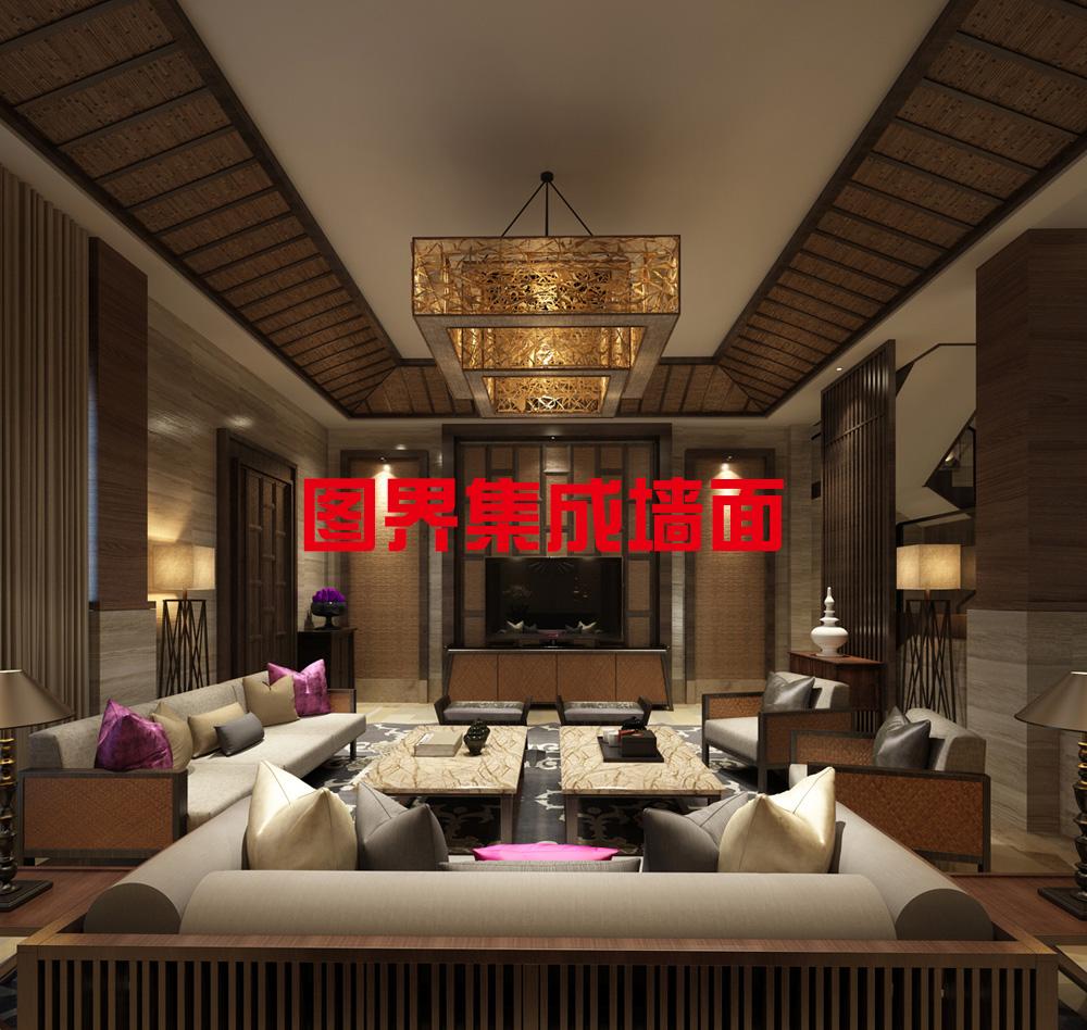 中式风-集成墙面招商1