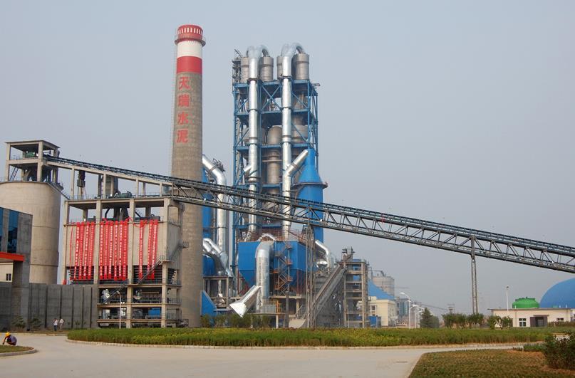 天瑞集团荥阳水泥有限公司12000t/d熟料水泥生产线机电设备安装工程