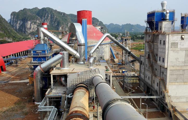 广西都安鱼峰6000t/d熟料水泥生产线及9MW余热发电施工总承包项目