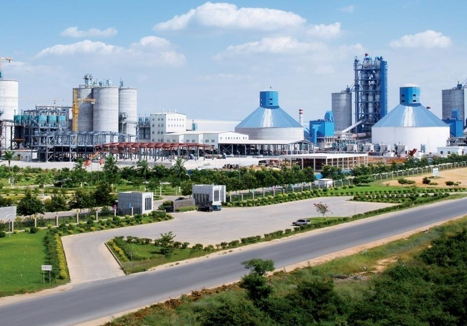 安哥拉罗安达5000t/d熟料水泥线安装工程