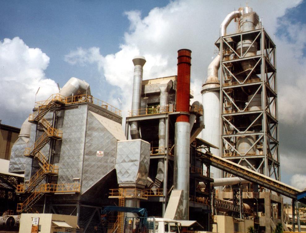 菲律宾APO-1水泥厂2000t/d设备安装工程