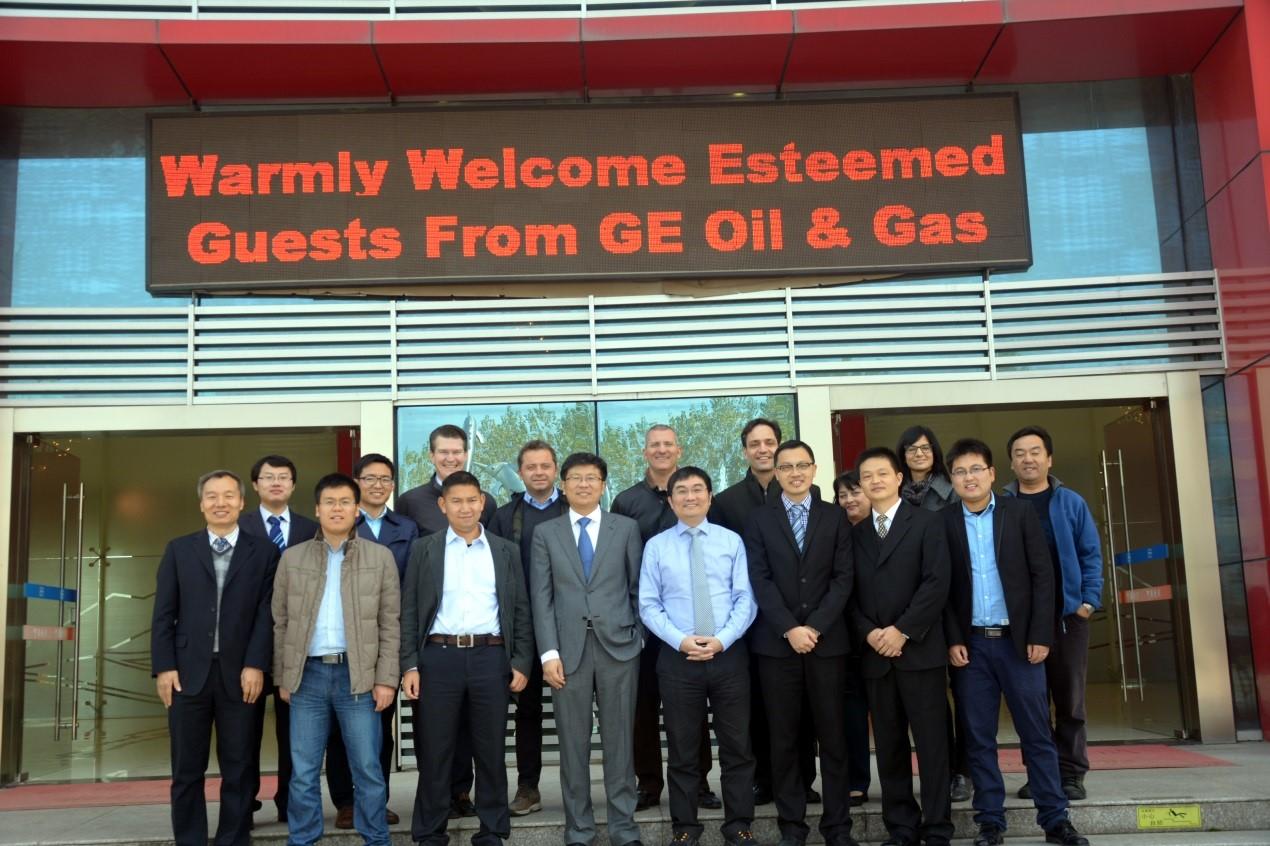 GE石油天然气集团代表一行到访南消,同时进行TRS审核