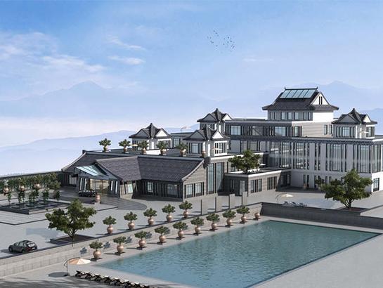 Henan Mu Zhai eco-tourism resort