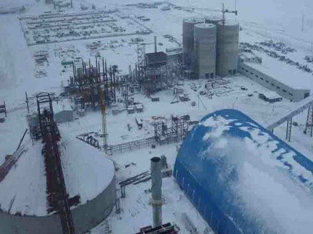 哈薩克斯坦阿克莫林州耶別克什勒杰爾斯克區后湖村5000t/d水泥生產線安裝工程