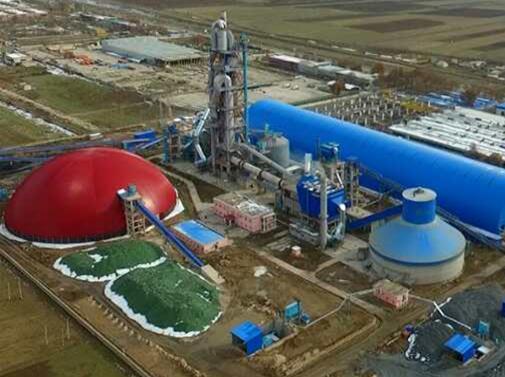 塔吉克斯坦莫伊爾日產3200噸水泥熟料生產線總承包項目