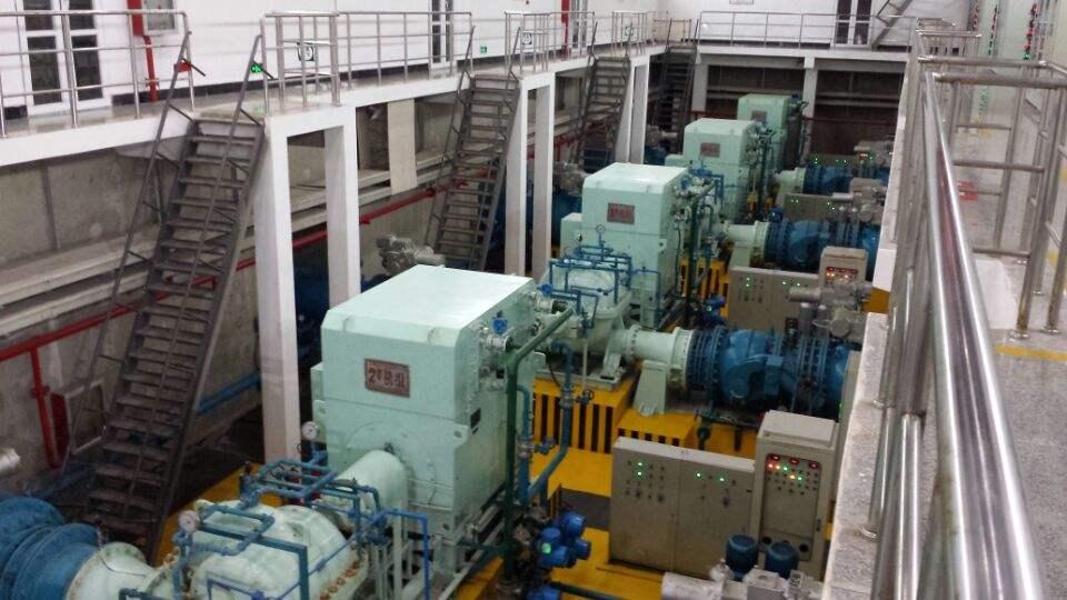 汤阳桥泵站10KV外线电源工程施工
