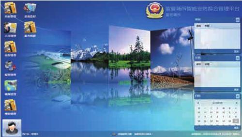 监管场所综合业务管理平台
