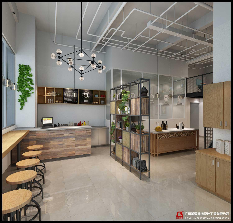 白云堡面包店-餐饮装修设计