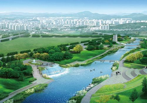圭塘河生态景观区景观一期高压线入地项目