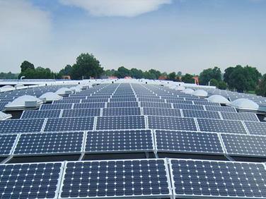 可再生新能源太阳能发电