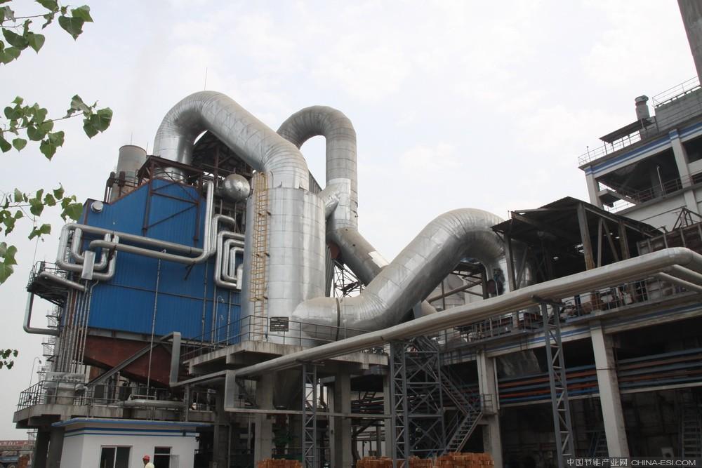 奥福集团承建玻璃窑余热发电项目