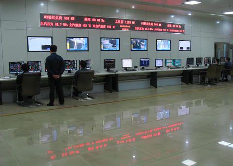 DCS现代化系统控制室