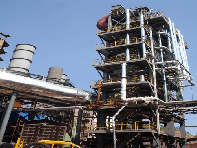 鋼鐵工業燒結機、余熱發電