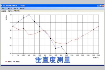 垂直度测量数据分析软件包