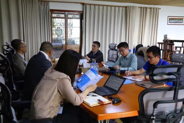 西江集团来访海格物流,共话物流供应链合作方向
