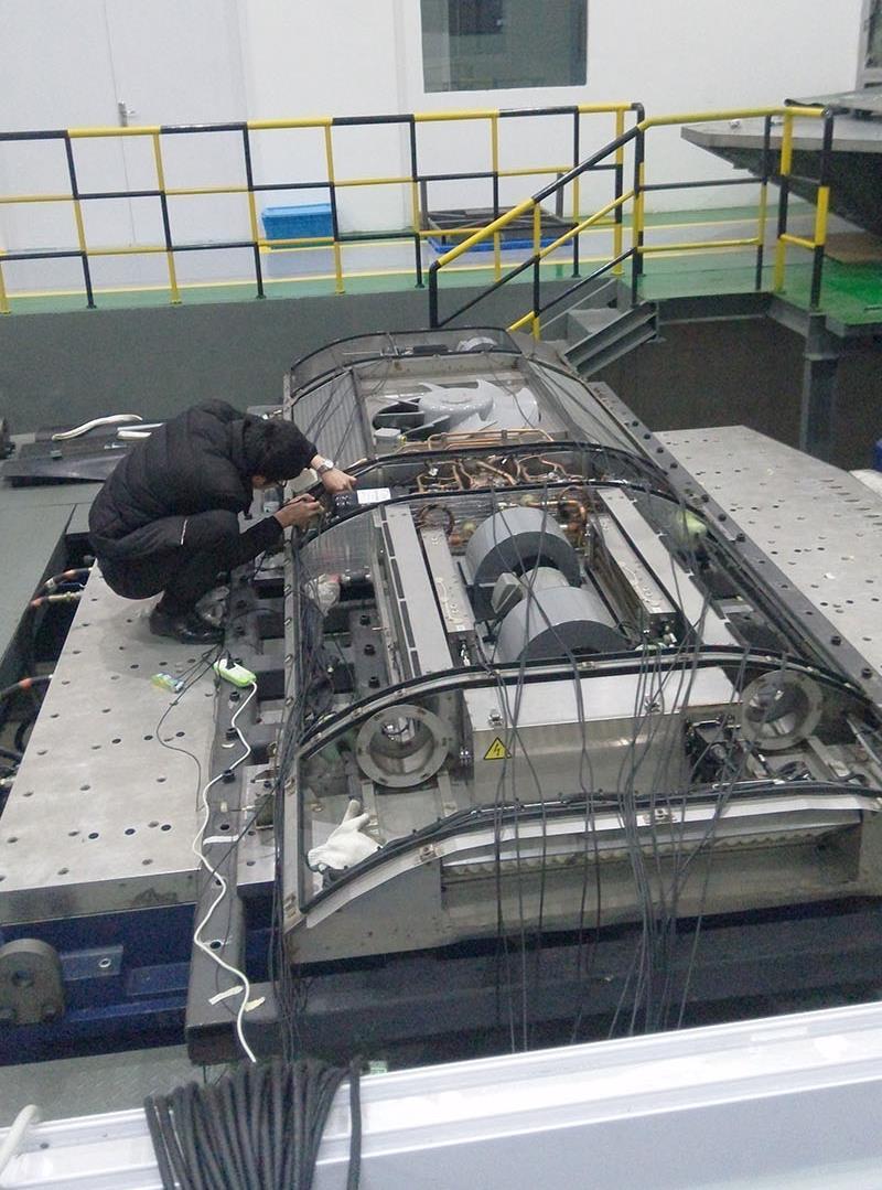 高铁车辆空调装置振动模态测试-苏州旭博检测有限公司