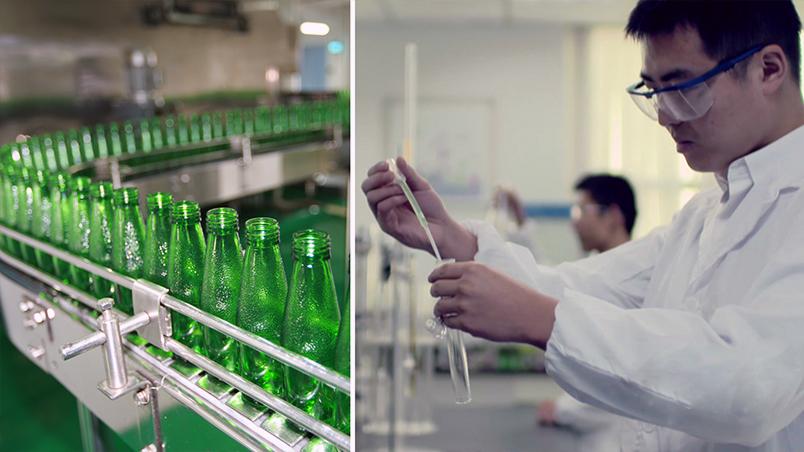 """成為國內首家""""碳中和""""食品飲料企業"""