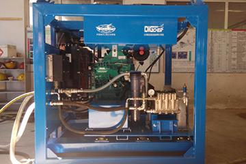 中(大)型空化射流水下清洗装置