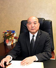 Mr Zhang Siyuan( Deputy Secretary of the Party Committee, Secretary of the Disciplinary Committee, Chairman of the Labor Union)