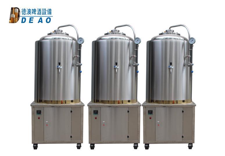 不锈钢啤酒设备-啤酒发酵系统