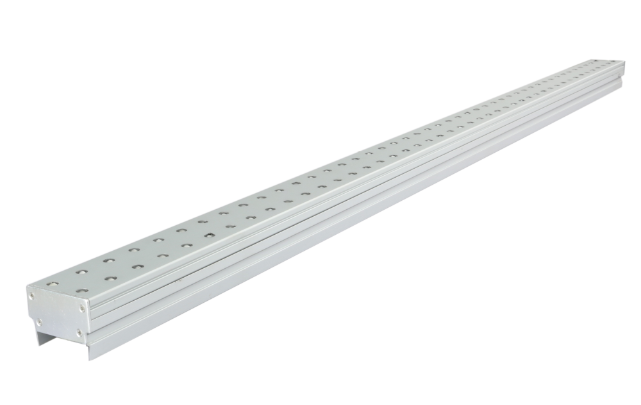 Ultra-narrow aluminum alloy LED line lights