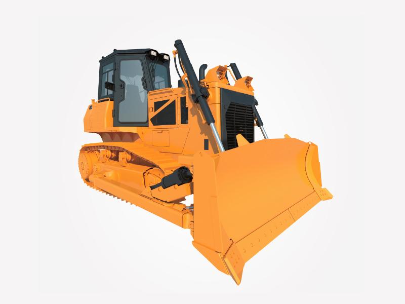 DH17C full hydraulic bulldozer