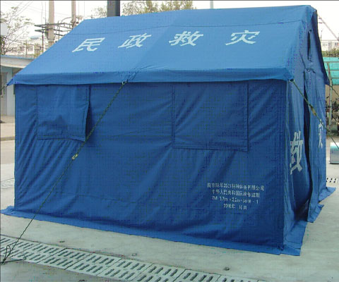 Ministry of Civil Affairs 12 square meters relief special cotton tent (alpine area)