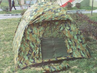 Dome camouflage tents