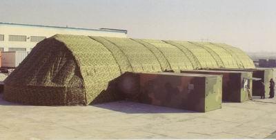 300 square meters of car repair grid tents
