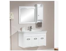 卫浴白色浴室柜
