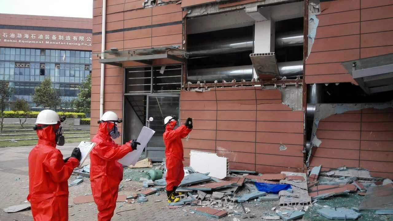 天津滨海服务外包产业有限公司产业园区房屋(8栋楼)结构应急检测与安全评估