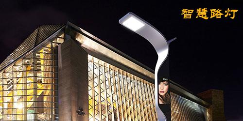 杨浦智慧城市--19寸双屏智慧路灯