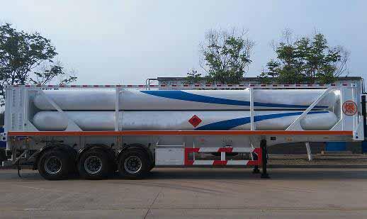711-6 tube frame long tube semi-trailer