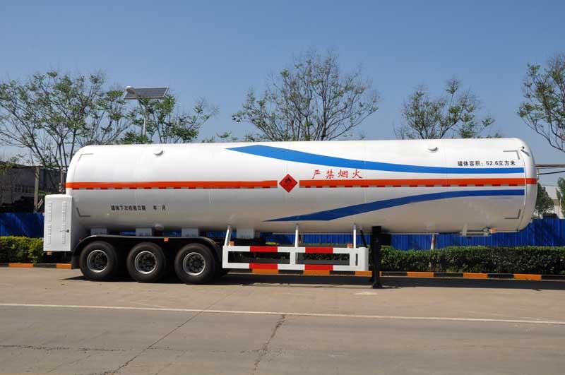 52.6m³LNG unloading liquid tanker
