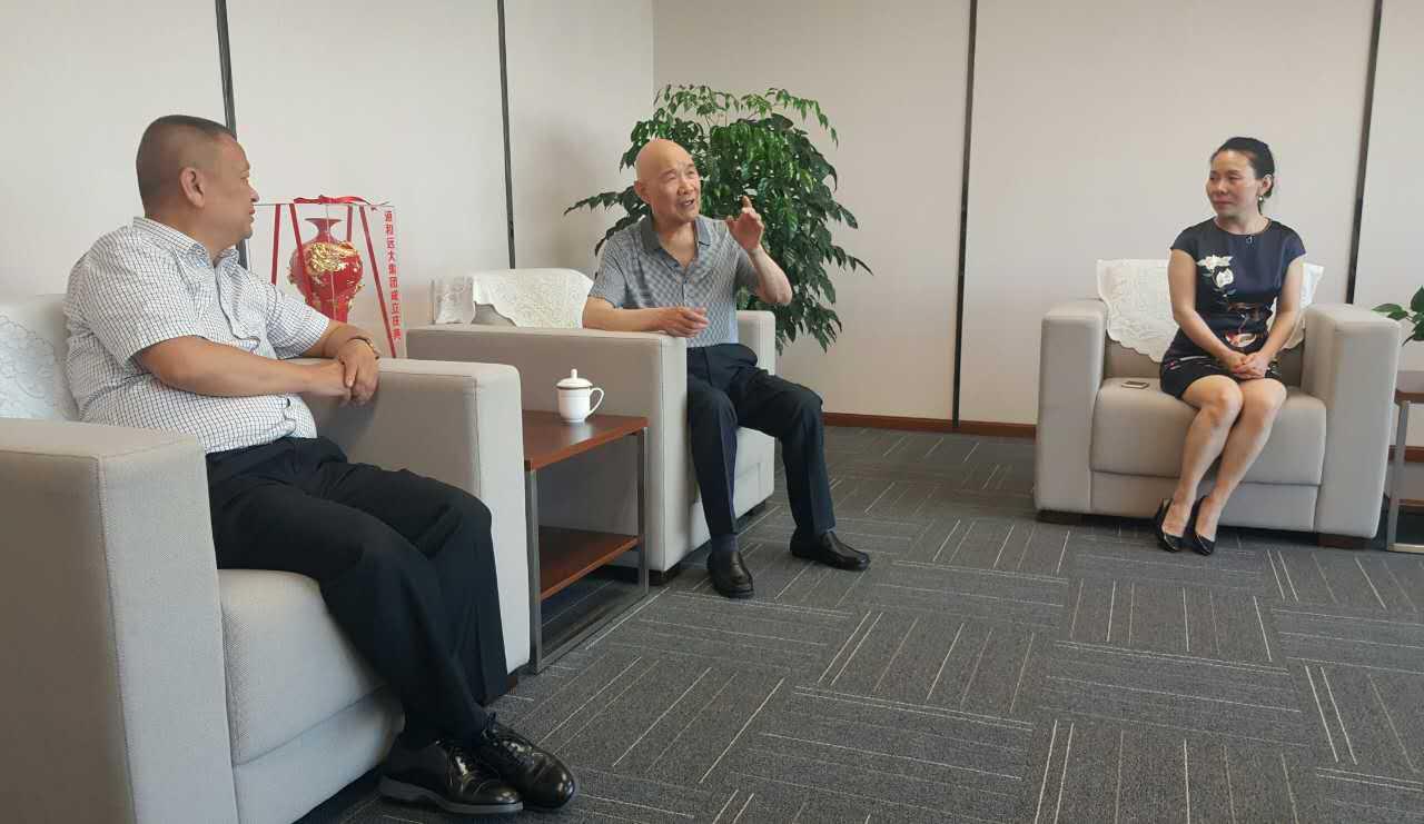 武盾公司董事长刘开文一行莅临集团考察指导