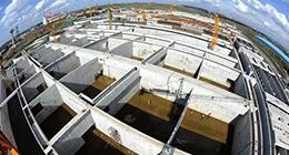 长春建设东北最大污水处理厂
