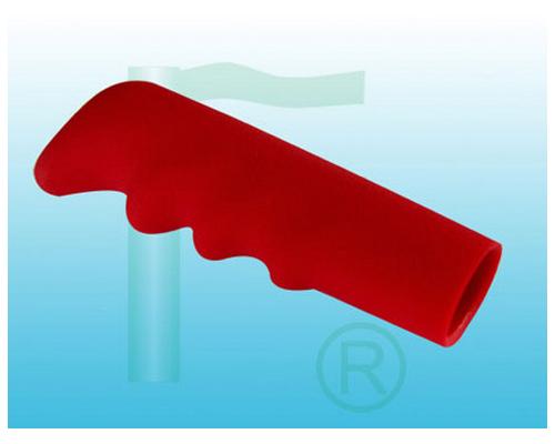 红色麻面波纹管