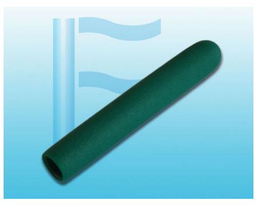 绿色麻面圆管