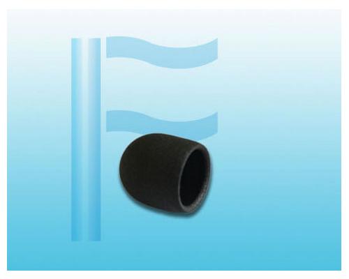黑色麻面圆管