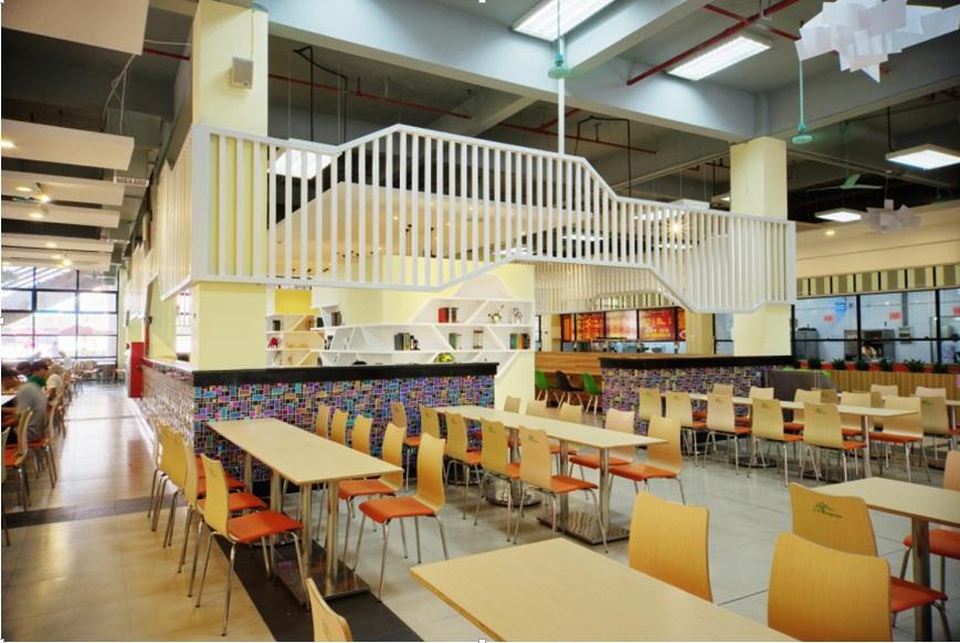 广东工业大学大学城校区东一食堂