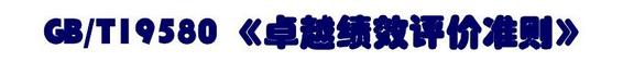 GBT19580-2012卓越绩效