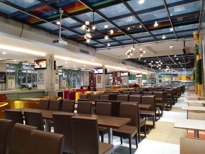 广东轻工职业技术学院第一食堂四、五楼食堂
