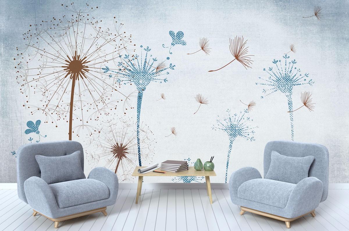 复古花卉壁画FG03