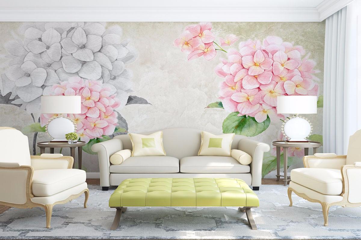 复古花卉壁画FG09